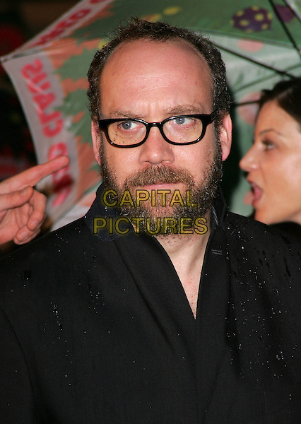 "PAUL GIAMATTI.European Premiere of ""Fred Claus"" at the Empire Cinema, Leicester Square, London, England, November 19th 2007.portrait headshot glasses beard .CAP/ROS.©Steve Ross/Capital Pictures"