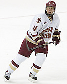 Mike Brennan - The Boston College Eagles defeated Northeastern University Huskies 5-3 on Saturday, November 19, 2005, at Kelley Rink in Conte Forum at Chestnut Hill, MA.