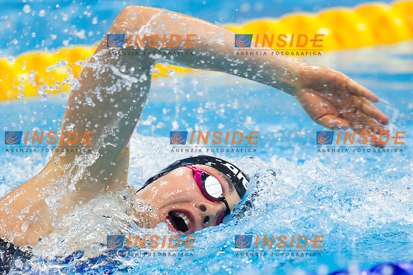 CARLI Diletta ITA<br /> London, Queen Elizabeth II Olympic Park Pool <br /> LEN 2016 European Aquatics Elite Championships <br /> Swimming<br /> Women's 800m freestyle preliminary  <br /> Day 10 18-05-2016<br /> Photo Giorgio Perottino/Deepbluemedia/Insidefoto