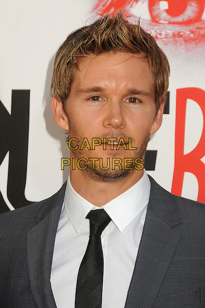 "Ryan Kwanten.HBO's ""True Blood"" Season 5 Premiere, Hollywood, California, USA..May 30th, 2012.headshot portrait white grey gray stubble facial hair shirt black .CAP/ADM/BP.©Byron Purvis/AdMedia/Capital Pictures."
