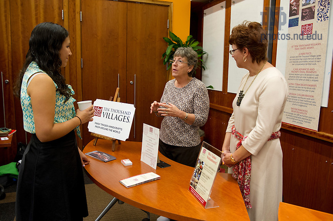 Oct. 4, 2013; Irish Impact Conference. Photo by Barbara Johnston/University of Notre Dame