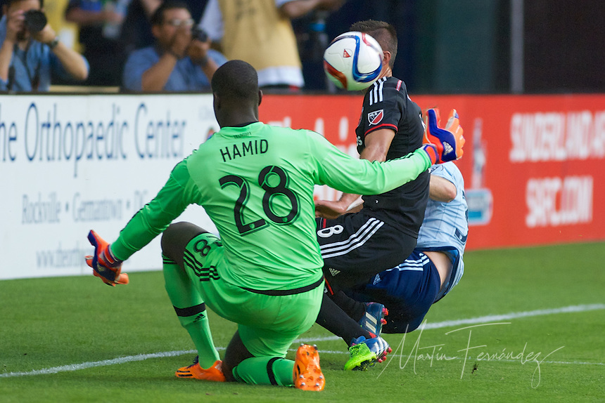 DC United extended their unbeaten streak to seven after a 1-1 tie with visiting Sporting KC.