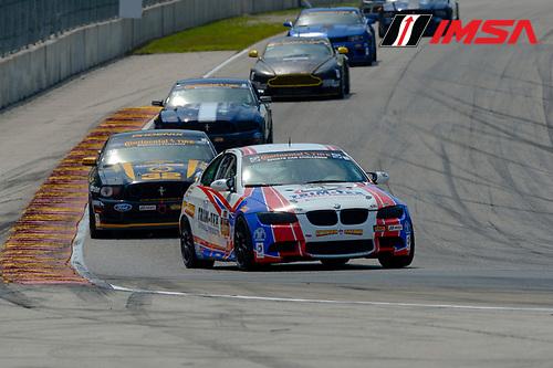8-10 August  2014, Elkhart Lake, Wisconsin USA<br /> 46, BMW, M3, GS, Trent Hindman, John Edwards<br /> &copy;2014, Richard Dole<br /> LAT Photo USA for IMSA