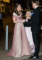 FEB 13 Catherine Duchess of Cambridge at 100 Women in Finance gala, London