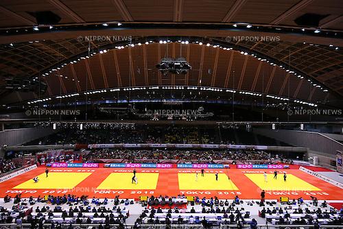 General View,<br /> DECEMBER 4, 2015 - Judo : <br />  IJF Grand Slam Tokyo 2015 International Judo Tournament<br /> at Tokyo Metropolitan Gymnasium, Tokyo, Japan. <br /> (Photo by Shingo Ito/AFLO SPORT)