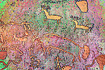 Colorized Newspaper Rock