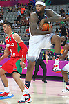 06.09.2014. Barcelona, Spain. 2014 FIBA Basketball World Cup, round of 16. Picture show D. Cousins   in action during game between  Mexico v Usa  at Palau St. Jordi