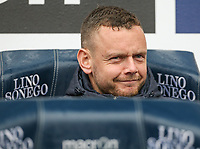 Bolton Wanderers' Jay Spearing sits on the bench<br /> <br /> Photographer Alex Dodd/CameraSport<br /> <br /> The EFL Sky Bet League One - Bolton Wanderers v Northampton Town - Saturday 18th March 2017 - Macron Stadium - Bolton<br /> <br /> World Copyright &copy; 2017 CameraSport. All rights reserved. 43 Linden Ave. Countesthorpe. Leicester. England. LE8 5PG - Tel: +44 (0) 116 277 4147 - admin@camerasport.com - www.camerasport.com