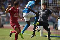 Gol Kalidou Koulibaly Napoli 3-0 Goal celebration  <br /> Napoli 01-10-2017 Stadio San Paolo Football Calcio Serie A 2017/2018 Napoli - Cagliari  <br /> Foto Andrea Staccioli / Insidefoto