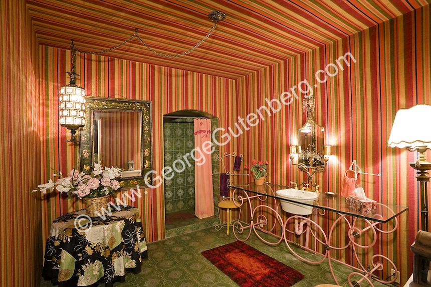 Stock photo of guest bath at Liberace estate Stock photo of master bath, en suite, bathroom