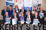 Launching the Who Want to be a Thousandaire in aid of St. John the Evangelist Church, Tralee, Ballyseedy and Ballymacelligott at Ballyroe Heights Hotel, Tralee on Thursday the 4th of December at 8pm. Pictured Front l-r Eoin O'Neill (PSC Wealth Plus), Tim Moynihan (Garveys Supervalu), Archdeacon Susan Watterson, John Slye (PSC Wealth Plus), Derek Rusk (Manor West).  Back l-r Patrick McElligott (McElligotts Garage), Colin Peevers, David Blennerhassett, Gerhardt Maritz, Neil Peevers (PSC Wealth Plus), Robert Groves (Lee Strand), Mark Boyle, Trevor Giles