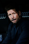 Atletico de Madrid coach Diego Pablo Cholo Simeone