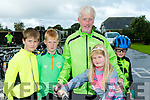 Family Fun<br /> ---------------<br /> The O' Flaherty's from Ardfert of Eoin, Richard, Tom, Caoimhe&amp;Darragh taking part in the Harvest cycle.