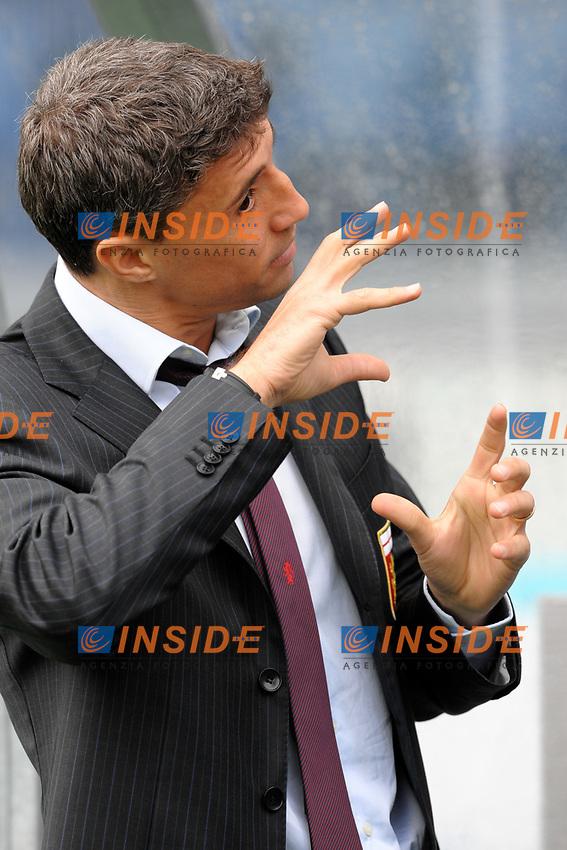 Hernan CRESPO Genoa<br /> Lazio Genoa 1-0<br /> Roma 13/12/2009 Stadio &quot;Olimpico&quot;<br /> Campionato Italiano Serie A 2009/2010<br /> Foto Andrea Staccioli Insidefoto