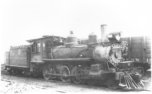 Engine #169.<br /> D&amp;RGW