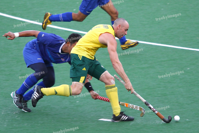 Commonwealth Games Delhi 2010.Men England v Sthy Africa 10-10-10.Glenn Turner.credit: Grant Treeby Images..Editorial use only (No Archiving) Unless previously arranged