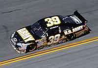 Feb 07, 2009; Daytona Beach, FL, USA; NASCAR Sprint Cup Series driver Ryan Newman during practice for the Daytona 500 at Daytona International Speedway. Mandatory Credit: Mark J. Rebilas-