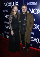 "HOLLYWOOD, CA - DECEMBER 5: Brady Corbet, Mona Lerche, at the LA Premiere Of Neon's ""Vox Lux"" at ArcLight Hollywood in Hollywood California on December 4, 2018. Credit: Faye Sadou/MediaPunch"