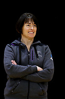 01.09.2017  Janine Southby, coach of the Silver Ferns, during the Silver Ferns training session ahead of the Quad Series at the ILT Stadium Southland in Invercargill. Mandatory Photo Credit ©Copyright photo: Dianne Manson/Michael Bradley Photography