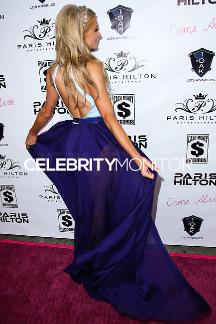 WEST HOLLYWOOD, CA, USA - JULY 10: Paris Hilton arrives at Paris Hilton's New Single 'Come Alive' Release Party held at 1OAK on July 10, 2014 in West Hollywood, California, United States. (Photo by Xavier Collin/Celebrity Monitor)
