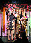 Sweetie, Sister Mary Helen and LaToya Fruitpunch during a performance of 'Ultimate Drag Off', the zaniest, live theatrical interactive game-show where audience members vote and crown the next drag superstar, at Triad Theatre on October 2, 2015 in New York City.