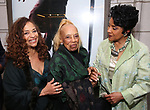 Debbie Allen, Vivian Ayers and Phylicia Rashad attends the Broadway Opening Night of  'Saint Joan' at the Samuel J. Friedman Theatre on April 25, 2018 in New York City.