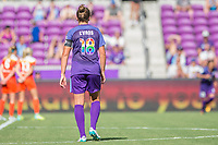 Orlando, FL - Saturday June 24, 2017: Maddy Evans during a regular season National Women's Soccer League (NWSL) match between the Orlando Pride and the Houston Dash at Orlando City Stadium.