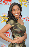 "HOLLYWOOD, CA. - December 05: Keke Palmer  arrives at Variety's 3rd annual ""Power of Youth"" event held at Paramount Studios on December 5, 2009 in Los Angeles, California."