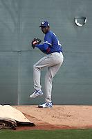 Yadier Alvarez / Yadier Alvares - Los Angeles Dodgers 2016 spring training (Bill Mitchell)