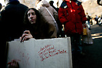 Hundreds assembled at  Strawberry Fields in Central Park today, to mark the 25th anniversary of the shooting and death of Beatles frontman, John Lennon. Shot in front of his apartment building across the street from the park, this annual ritual has brought people from all over the world wanting to pay their respects.