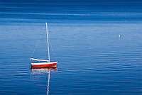 Sailboat, Eastham, Cape Cod, Massachusetts, USA.