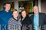 L-R John&Eileen Kelliher with Joan&Pat Daly at the Sharon Shannon concert at O'Riada's, Ballymac, last Saturday night.