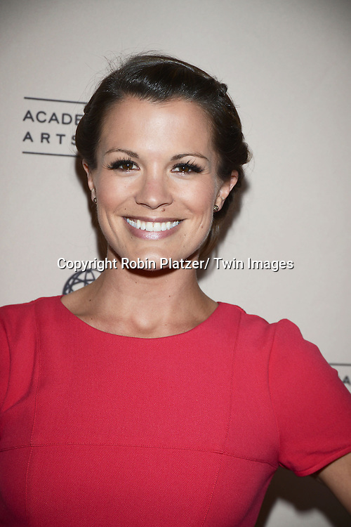 Melissa Claire Egan attends the Academy Of Television Arts & Science Daytime Programming  Peer Group Celebration for the 40th Annual Daytime Emmy Awards Nominees party on June 13, 2013 at the Montage Beverly Hills in Beverly Hills, California.