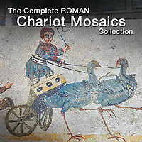 Pictures of Roman Mosaics of The Chariot Circus - Pictures & Images -
