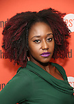 Nana Mensah attends the Second Stage Theatre's Off-Broadway Opening Night After Party for 'Man From Nebraska'  at Dos Caminos on 2/15/2017 in New York City.