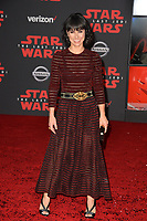 Constance Zimmer at the world premiere for &quot;Star Wars: The Last Jedi&quot; at the Shrine Auditorium. Los Angeles, USA 09 December  2017<br /> Picture: Paul Smith/Featureflash/SilverHub 0208 004 5359 sales@silverhubmedia.com