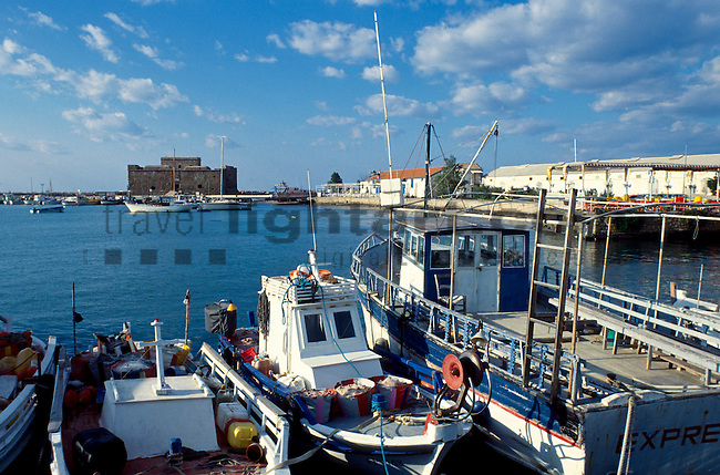 Harbour, Paphos, Pafos, Cyprus, Zypern