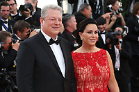 AL GORE AND HIS WIFE - RED CARPET OF THE FILM 'THE KILLING OF A SACRED DEER' AT THE 70TH FESTIVAL OF CANNES 2017 . CANNES, FRANCE, 22/05/2017. # 70EME FESTIVAL DE CANNES - RED CARPET 'MISE A MORT DU CERF SACRE'