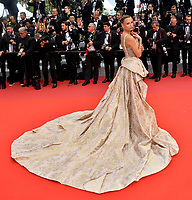 """CANNES, FRANCE. May 22, 2019: Natasha Poly at the gala premiere for """"Oh Mercy!"""" at the Festival de Cannes.<br /> Picture: Paul Smith / Featureflash"""