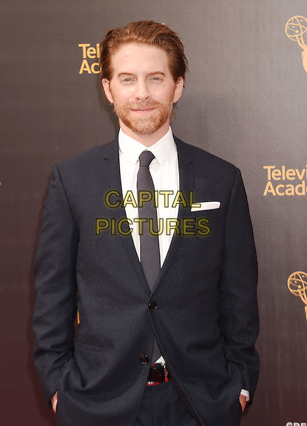 LOS ANGELES, CA - SEPTEMBER 11: Actor/writer/director Seth Green attends the 2016 Creative Arts Emmy Awards held at Microsoft Theater on September 11, 2016 in Los Angeles, California.<br /> CAP/ROT/TM<br /> &copy;TM/ROT/Capital Pictures