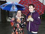 Megan Butler and Katie whelan at the Shane Whelan day at Naomh Mairtin GFC. Photo:Colin Bell/pressphotos.ie