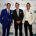 MIAMI BEACH, FL - JUNE 18: Chad Carroll, Jay Parker and Christopher Leavitt attends Million Dollar Listing Miami Season One VIP Premiere Party at Nikki Beach on June 18, 2014 in Miami Beach, Florida. (Photo by Johnny Louis/jlnphotography.com)