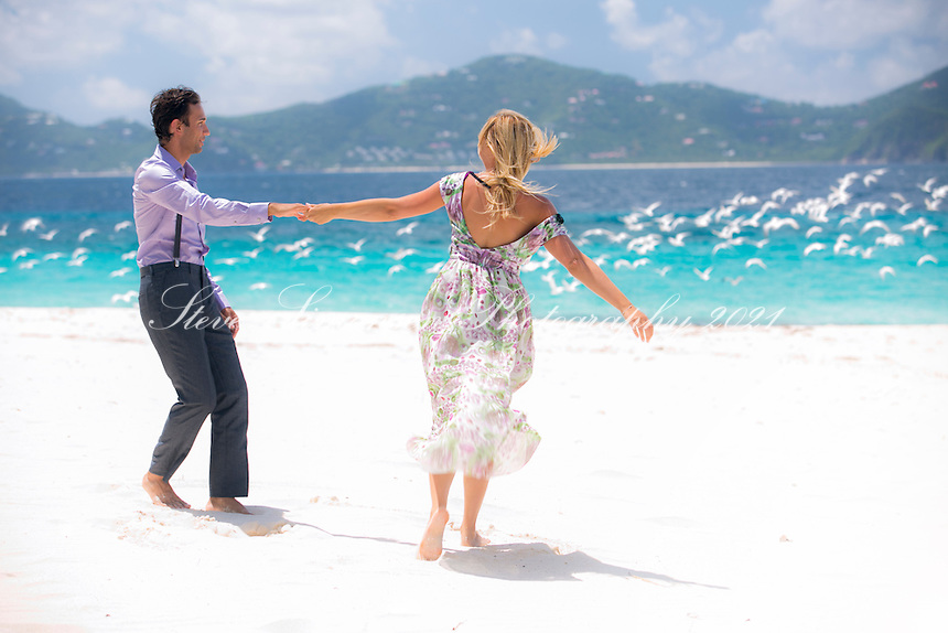 Engagement photos of Nathalie and Nevile<br />