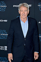 """LOS ANGELES, USA. December 17, 2019: Harrison Ford at the world premiere of """"Star Wars: The Rise of Skywalker"""" at the El Capitan Theatre.<br /> Picture: Paul Smith/Featureflash"""