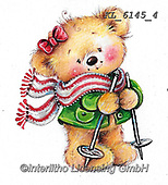 CHRISTMAS ANIMALS, WEIHNACHTEN TIERE, NAVIDAD ANIMALES, paintings+++++,KL6145/4,#xa#