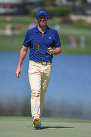 Rory McIlroy (NIR) after sinking his putt on 6 during round 1 of the Arnold Palmer Invitational at Bay Hill Golf Club, Bay Hill, Florida. 3/7/2019.<br /> Picture: Golffile | Ken Murray<br /> <br /> <br /> All photo usage must carry mandatory copyright credit (© Golffile | Ken Murray)