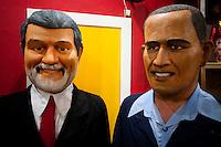 Recife_PE, Brasil..Confeccao de bonecos gigantes em Recife, Pernambuco..Elaboration of giant puppets in Recife, Pernambuco..Foto: JOAO MARCOS ROSA / NITRO