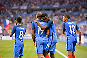 June 13th 2017, Stade de France, Paris, France; International football friendly, France versus England; OUSMANE DEMBELE (fra) celebrates his winning goal in the 78th minute