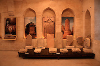 Ottoman tombstones at the Sakip Sabanci Museum, Mardin, southeastern Turkey