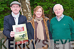 The second Fossa and Aghadoe history publication is nearly sold out and anyone who wishes to own a copy of this wonderful production should do so before it is too late. .L-R James Houlihan, Marian Murphy and Michael Doyle of the Fossa Historical Society.